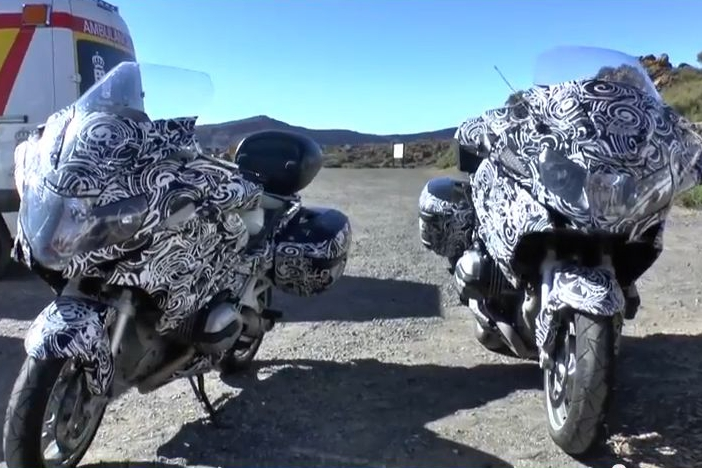 BMW R1200GT spy video surfaces