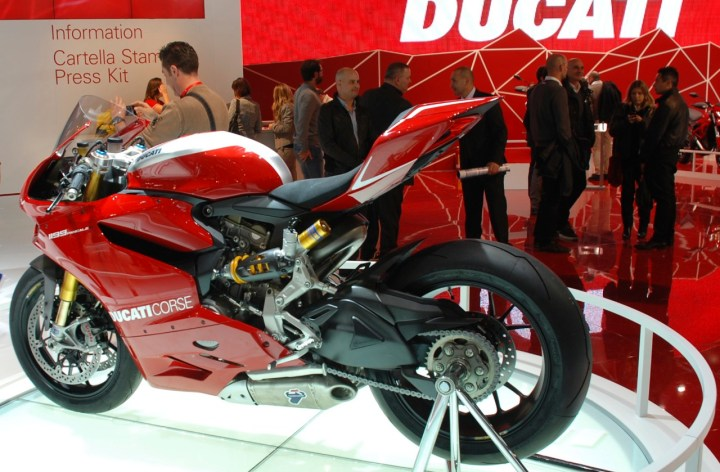 BMW, Ducati see sales changes