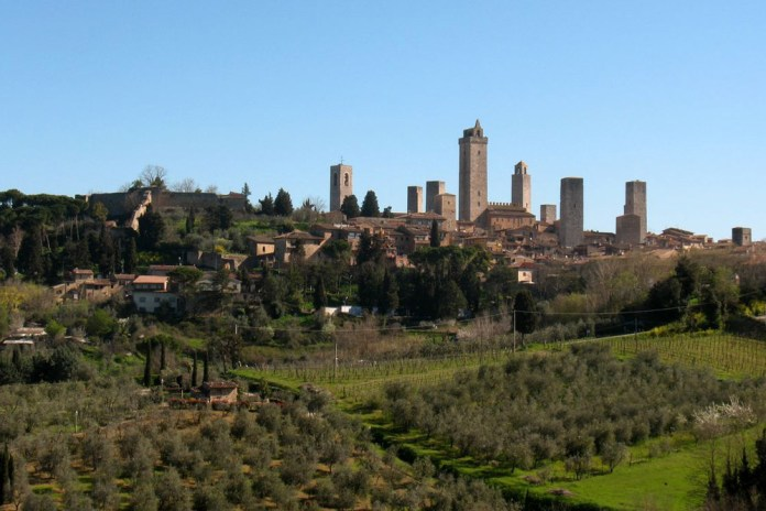 Here's San Gimignano, by day. You don't get history like this in Canada. Photo: Paolo Perico