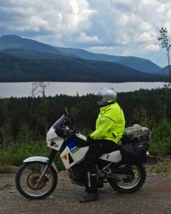 Once you get into the hillier part of the Gaspesie, it gets to be almost alpine-like. Almost.