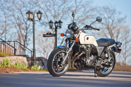 The CB1100s imported to Canada are all sold already.
