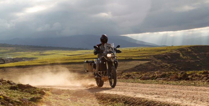 BMW continues to inspire motorcyclists to ride into the wilderness with their new F800 GS Adventure.
