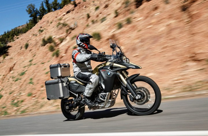New BMW F800 GS Adventure revealed