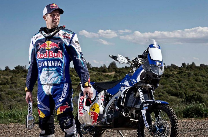 Cyril Despres will be wearing the blue and white at Dakar for the next two years.