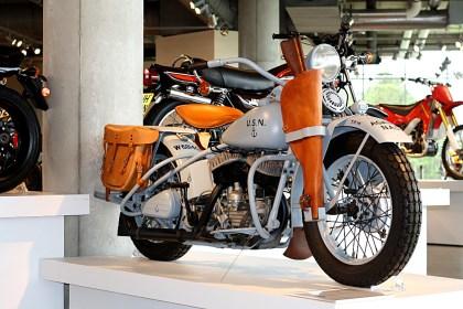 Plenty of museums have army surplus bikes, but how many have navy surplus bikes? Photo: Zac Kurylyk