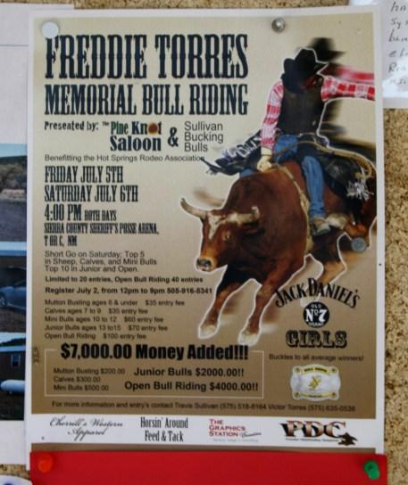 Apache Creek's entertainment follows a local theme. Photo: Zac Kurylyk