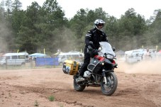 There were plenty of opportunities to rip around in the training area between classes.