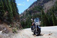There aren't many places to safely pull off and shoot photos on the Million Dollar Highway. Photo: Zac Kurylyk