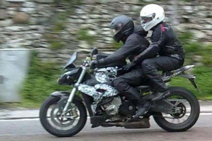 Want a S1000RR-based naked? Seems BMW is working on it. Photo: Motoblog
