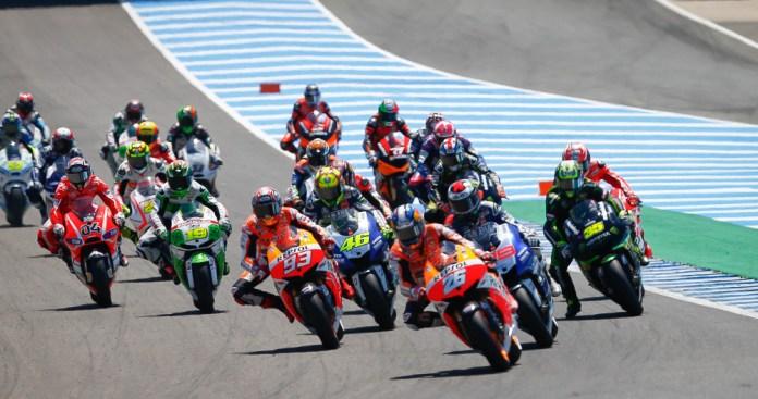 Spaniards continued their dominance of MotoGP at Jerez. Photo; MotoGP