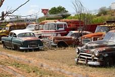 Roadside junkyard, off Rt. 380 in Texas. Photo: Zac Kurylyk