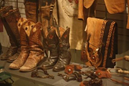 Rootin' tootin' cowboy footwear in ROswell. Photo: Zac Kurylyk