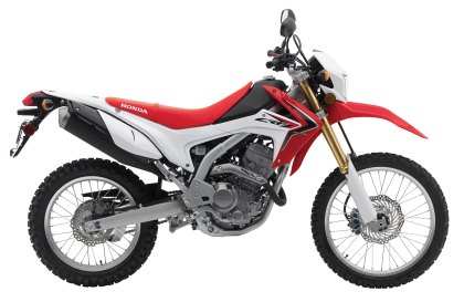 The CRF250L is a fun bike, and now you can ride farther between gas stops, with a new tank from IMS.