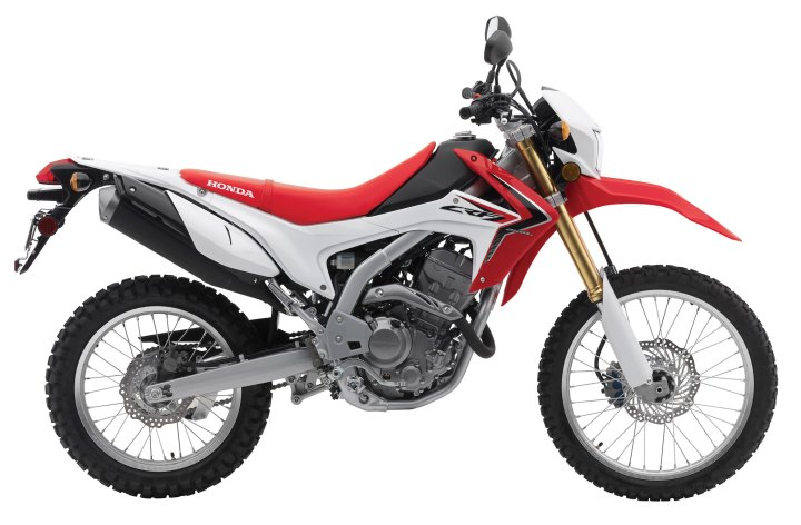 New gas tank available for CRF250L