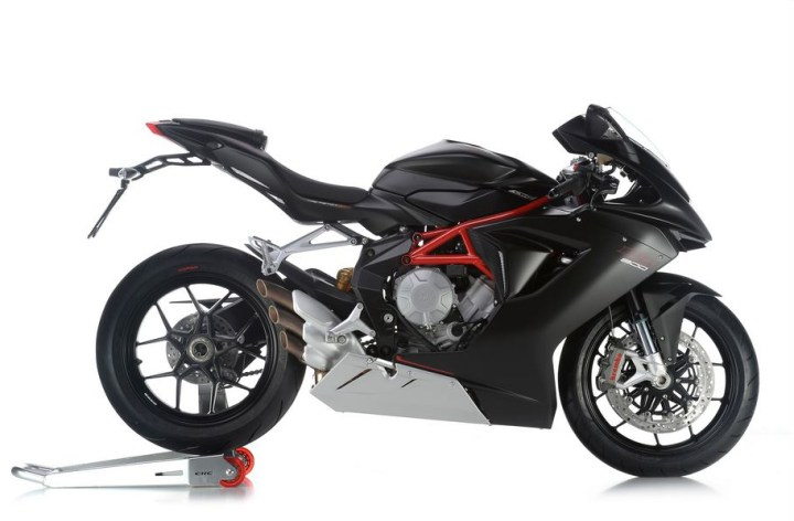 MV Agusta triples get dual-channel ABS