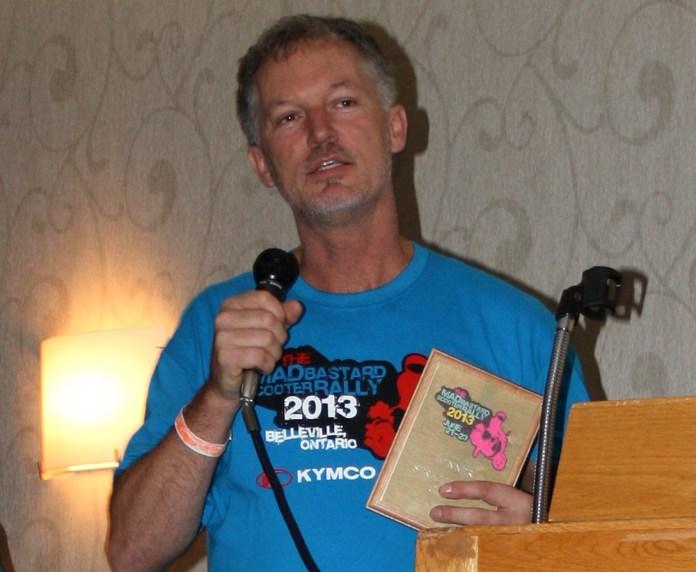 Todd McAlary took the top prize as Maddest Bastard. Photo: Zac Kurylyk