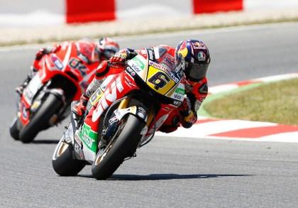 Stefan Bradl managed to get a fifth. Photo: MotoGP