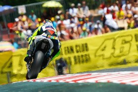 Valentino Rossi finished off the podium again, in fourth. Photo: MotoGP