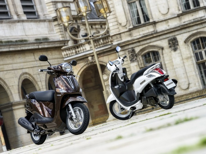 With a 114 cc motor, most people aren't going to head too far out of the city, but for around-town riding, the Delight could be just the ticket.