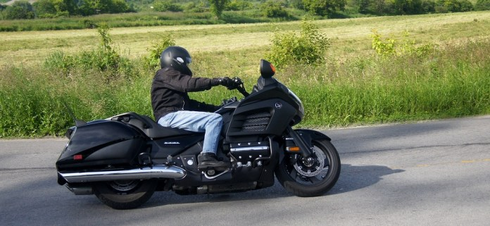 Handling is better than the standard Gold Wing, thanks to the F6B's lighter weight. The suspension was re-worked to match the lighter bike. Photo: Steve Bond