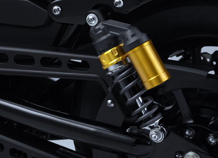 Zac's only real issue with the Bolt is the limited rear suspension travel. The rear suspension can give you quite a jolt if you're riding hard, and it doesn't appear an easy aftermarket solution is coming soon.