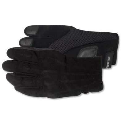 Aerostich's Hot Weather Vegan gloves don't use leather in their construction.