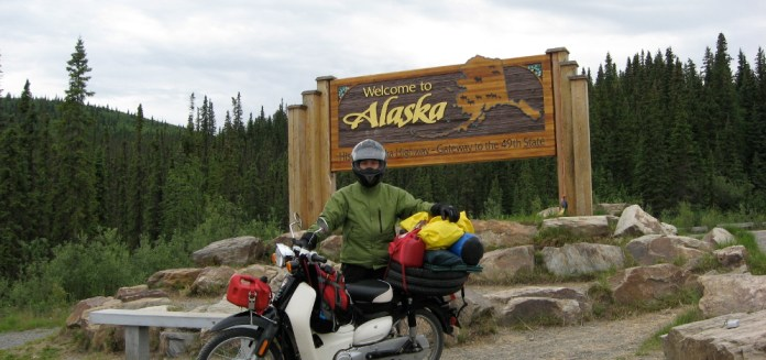 Jamie had some bad luck with his Symba, but it seems to have been a rarity; other users take them everywhere - even, apparently, Alaska. Photo: Binh Cheung