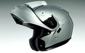 The Neotec is a flip-up helmet.