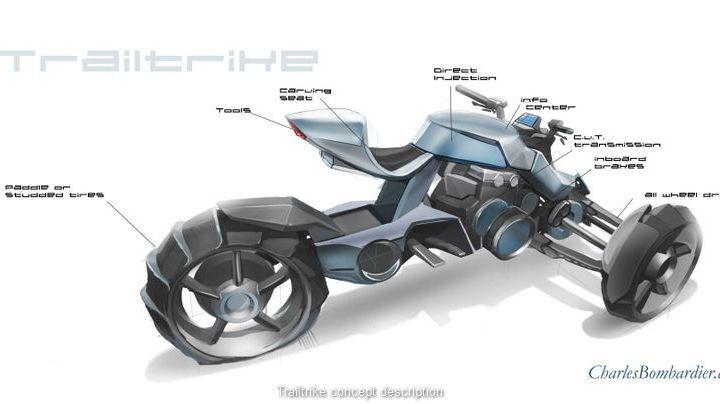 Bombardier draws up an enduro trike
