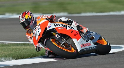 Pedrosa ended up in second. Photo: MotoGP