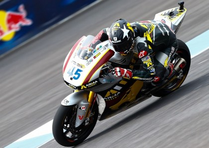 Scott Redding's second-place finish gives him a 26-point lead in the series on Pol Espargaro. Photo: MotoGP