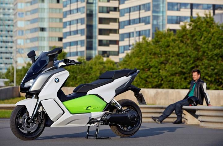 BMW s'attaque au marché éléctrique avec le C evolution