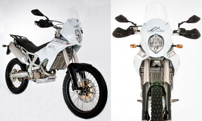 The CCM GP450 is a high-spec adventure bike built around BMW's made-in-Taiwan 450 cc motor.