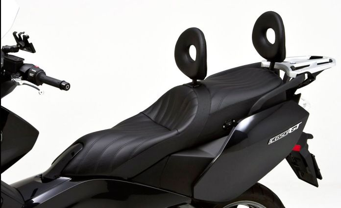 Fancy a more comfortable C650 GT scooter? Check out this seat from Corbin.