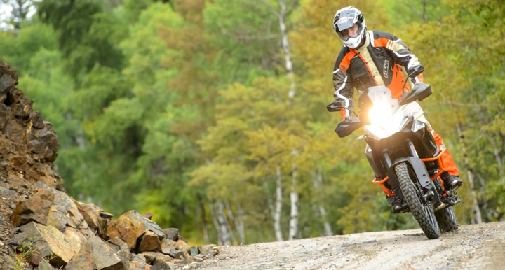 With Bosch's new MSC system, the KTM 1190R Adventure is more impressive than ever.