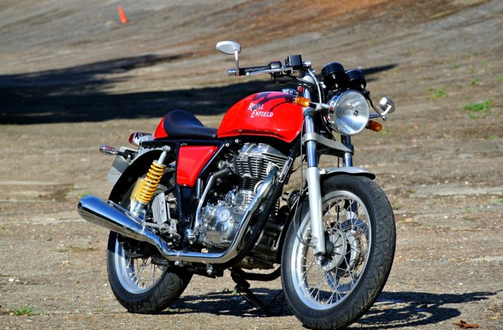 Cafe Racer Redux: Royal Enfield Continental GT Launch