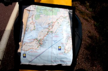 The map case is a great option. Even in today's GPS era, pen-and-paper directions have their place. Photo: Zac Kurylyk