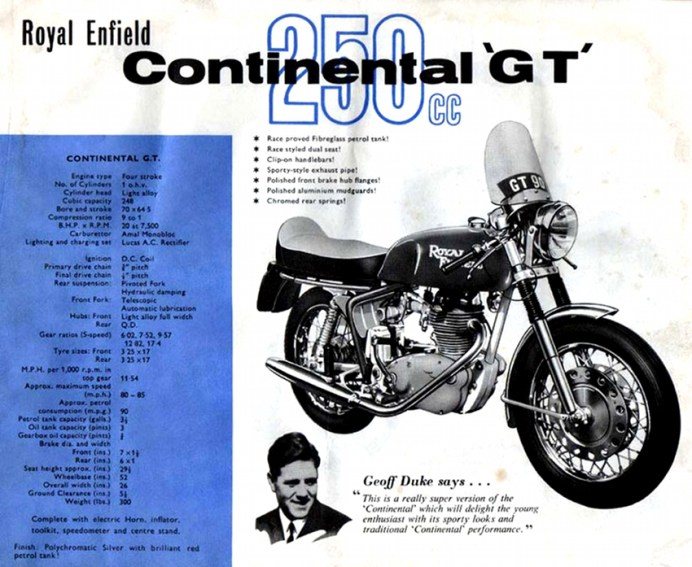 Here's a look at the original Continental GT. It was only a 250.