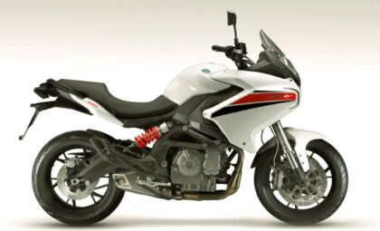 The BN 600GT seems to be aimed at the road-going adventure market.