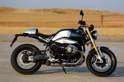 It seems someone's leaked photos of the NineT a bit early ...