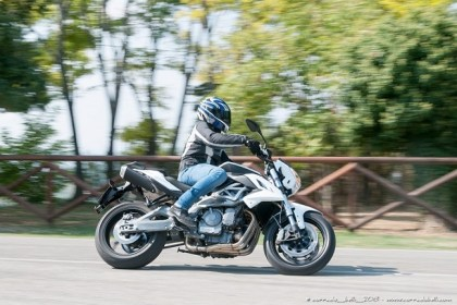 Here's Benelli's BN600R.