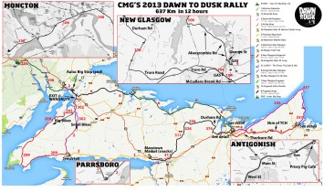 Here's the 2013 route.