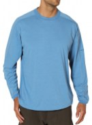 ExOfficio's ExO Dri shirt worked well for me, never failing to dry out overnight.