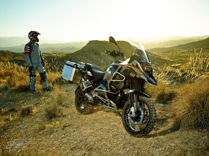 Here's the new R 1200 GS.