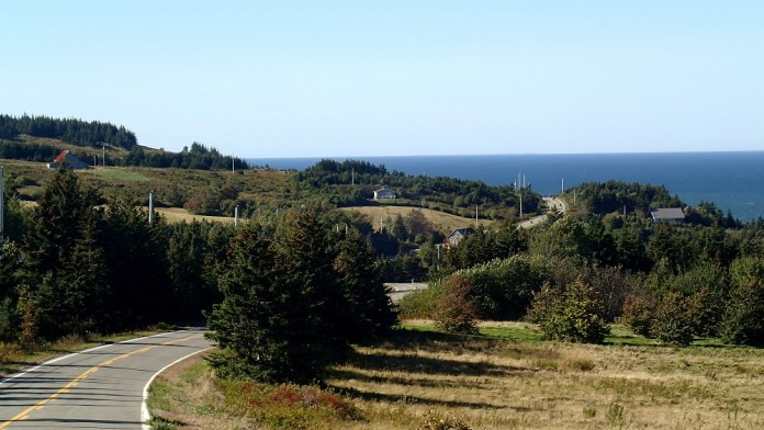 The roads around Cape George are hilly and curvy. What else could you ask for? Photo: Rob Harris