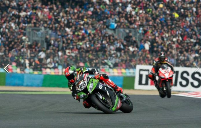 Tom Sykes took superpole again, and never looked back all weekend. Photo: Facebook