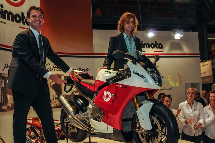 Now under Swiss ownership, Bimota unveiled their new BB3 at EICMA in 2013.