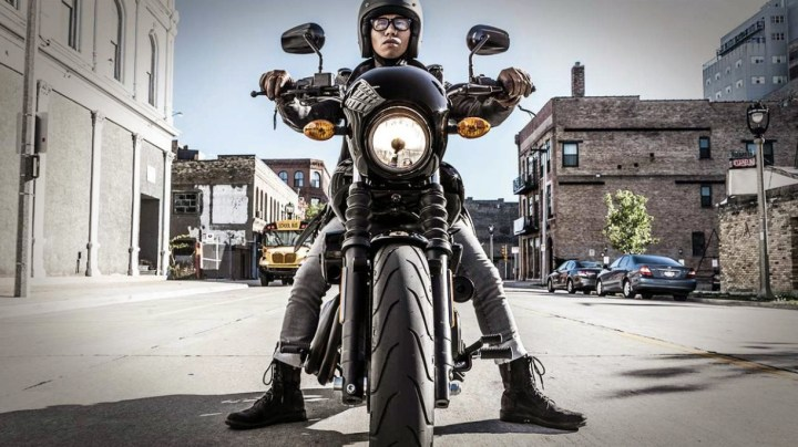 This Hog - or is that a Piglet? - is Harley-Davidson's first all-new model since the V-Rod.