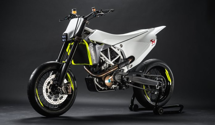 Here's the Husqvarna 701 prototype. Could the company's future have more than dirt bikes to offer?