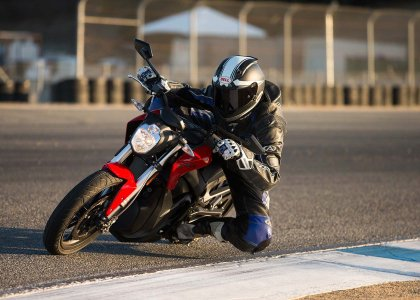 The Zero SR has more range and more power again. Every year, their bikes get more and more competent.